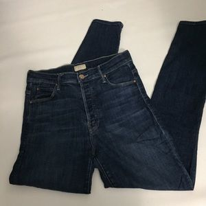 Mother High Waist Stunner Ankle Jeans size 27